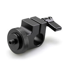 """1/4"""" thread Single Rod clamp For Monitor Led Light Microphone15mm DSLR Rig"""