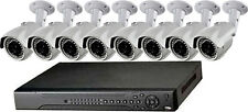 16 Ch DVR H.264 Compression Real Time CIF Network & 8 Camera Sony 960 TVL 30 LED