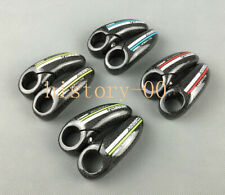 3K Carbon Fiber MTB Mountain Road Bike Bicycle Handlebar Bar End ends 22.2mm 84g