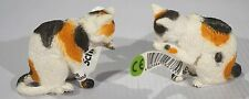 New Schleich Grooming Cat Set of 2 P/N:13675