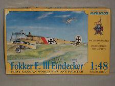 Eduard 1/48 Scale Fokker E.III Eindecker