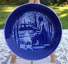 """Royal Copenhagen 1978 Julen Christmas Plate 7.5"""" Hans C Anderson Flow Blue Vgc"""