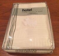Gorgeous Mattelasse PILLOW SHAM Ivory HOTEL LIVING Cotton STANDARD NWT