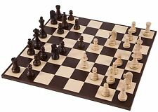 SQUARE - Pro Wooden Chess Set No. 6 - AMERICA - Chessboard & Chess Pieces