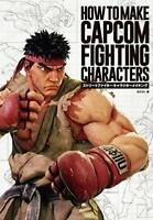 HOW TO MAKE CAPCOM FIGHTING CHARACTERS Street Fighter Game Making Art Book