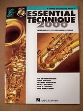 Essential Elements 2000 Bb Tenor Saxophone Book 3 Cd Included