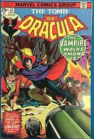 TOMB OF DRACULA #37 (1975) Marvel Comics VG+/FINE-