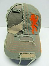 HOLLAND SOUVENIR PRE-RIPPED ORANGE LION BALLCAP from 2007 - Adjustable (#1626)