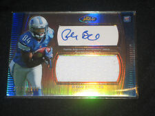 RYAN BROYLES LIONS ROOKIE CERTIFIED AUTOGRAPHED SIGNED FOOTBALL JERSEY CARD