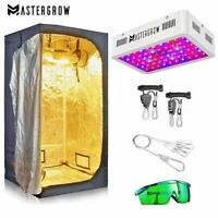 Grow Tent Room Complete Kit 1000W 2000W LED Light+Multiple Size Tent Combo Hydro