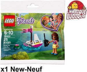 Lego Polybag Friends Boat Remote Control Olivia Boat 30403 New