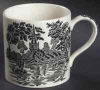 Wedgwood ROMANTIC ENGLAND BLACK Mug 4097901