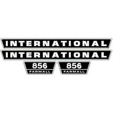 NEW 856 INTERNATIONAL HARVESTER FARMALL TRACTOR HOOD DECAL KIT QUALITY VINYL 🎯