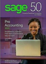 Sage 50 Pro Accounting 2020 Software Traditional Disc Download USA Windows