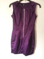 Size 10 Purple Dress By Ax Of Paris - Absolute Stunner