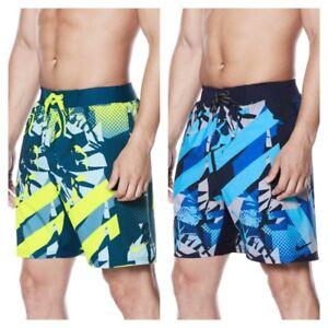 New Nike Mens Printed Graphic Graffiti Breaker Swim Shorts Trunks MSRP $62