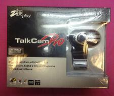 ZIC Play 12.m Pixels TalkCam Pro 1.2m Pixels USB 2.0 WebCam Camera - New