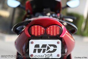 Kawasaki Ninja ZR7 S ZX6R 9R ZZR600 1998 - 2005 Sequential Tail Light Taillight