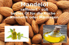"""Mandelöl 50 ml süß raffiniert 100% reine Öle von """"Mäc Spice"""""""