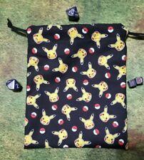 Pokémon Pikachu Tossed Dice Bag, Card Bag, Makeup Bag, Small Gift Bag