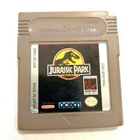 **Jurassic Park Original Nintendo GameBoy Game - Tested - Working - Authentic!**