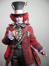 "Mad Hatter, Alice in Wonderland 1:6 Scale 12"" by Medicom NIP, Johnny Depp RAH"