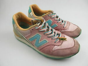 Women's NEW BALANCE '996' Sz 6 US Shoes Pink Blue VGCon | 3+ Extra 10% Off