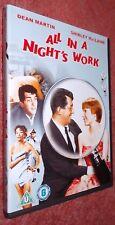 All in a Night's Work DVD (1961) Shirley MacLaine, Dean Martin