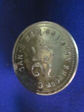 MOORHEAD MN TOKEN MINNESOTA GOOD FOR 25c IN TRADE MERCHANT CREAGAN'S BAR