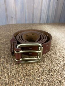 Duluth Trading Co. Men's Holier Than Thou Work Belt  Brown Size 48
