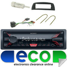 Fiat Punto Mk2 99-10 SONY MP3 USB Aux Ipod Car Radio Steering Interface Kit
