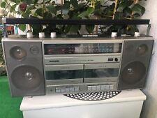 Telefunken RC720T-Kofferradio-Ghettoblaster-Radiorecorder-Radio-Doppelkassette