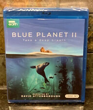 BLUE PLANET II Blu-ray BBC Earth 3 Disk Set