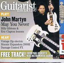 JOHN MARTYN / BILLY GIBBONS / ERIC CLAPTON Guitarist CD GIT282 2006