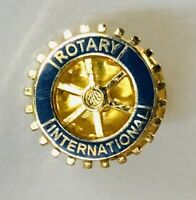 Rotary International Club Membership Wheel Pin Badge Rare Vintage (C3)