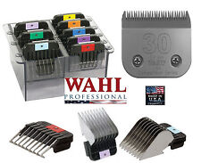 Wahl STAINLESS STEEL Guide ATTACHMENT COMB SET&30 BLADE*Fit KM2,KM5,KM10 Clipper