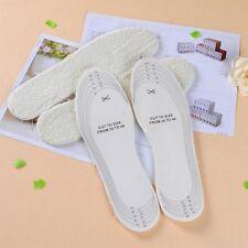 Unisex Men Wemen Footcare Shoe Foam Latex Backed Lambswool Insoles Pad Inserts