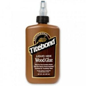 Titebond Liquid Hide Glue 237 ml 8oz 600225 No Mixing Heating