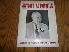 1950 Antique Automobile - December 1950 - Original Vintage