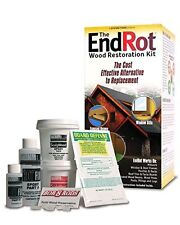 Window and Door Rot Repair Kit - Preservative & Epoxy Wood Restoration System