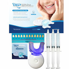 PEP-WHITE - ZERO PEROXIDE Teeth Whitening Kit Advanced Gel With AFTERCARE GUIDE