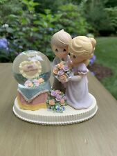 "*Nib* Precious Moments ""To Have And To Hold� Anniversary Waterball #670103"