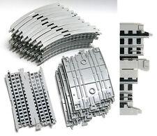 8 TYCO Slot Car 1975-Present Mattel LOOP TRANSITION TRACKs 1-Loop GRAY R/R 5879