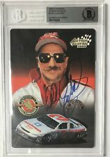 1995 Action Packed DALE EARNHARDT Sr #1  BGS BAS Auto Autograph 5x7 Stars Silver