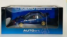 AUTOart Subaru Impreza WRX (Series 1) Diecast Model in 1:18 Scale - Mint!