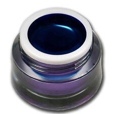 Premium Glossy UV Gel Blau Blue-Moon ohne Schwitzschicht Farbgel #00649-20