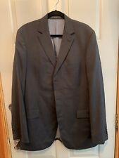 hugo boss suit 44r Black White Pinstripe Pants 36x32