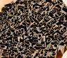 Konvolut Jugendstil Messinglettern Buchbinden Messingschrift Prägeschrift Prägen