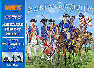 Imex 1/72 American Revolution George Washington's Army # 511