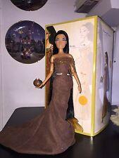 Disney Store Designer Collection Pocahontas Doll. Deboxed. Floor Model